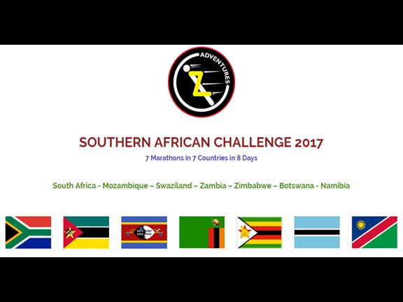 Southern African Challenge 2017, biletino, Z Adventures