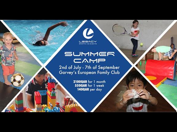 Summer camp in Garveys European Family Club - Al Aziziyah, biletino, N A Rock Sports