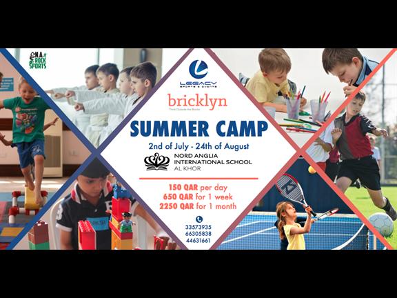 Al Khor Summer Camp: 15% Discount for students of Nord Anglia International School Al Khor, biletino, Bricklyn Lego Education