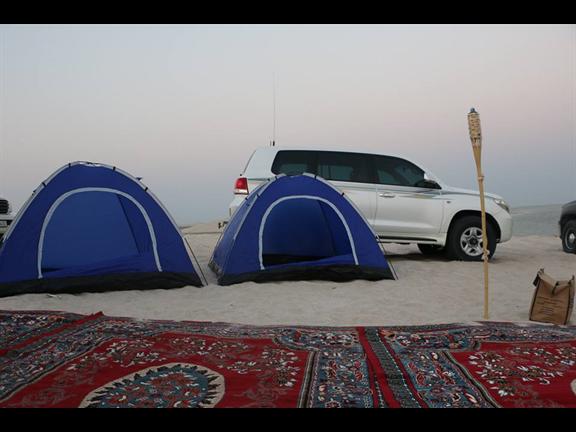 Overnight Camping at The Inland Sea, biletino, 365 Adventures - Qatar