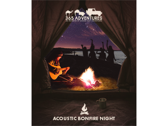 Acoustic Bonfire  Night, biletino, 365 Adventures - Qatar