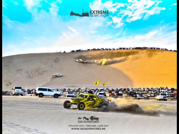 Extreme Desert Show - 16th February, biletino, 365 Adventures - Qatar