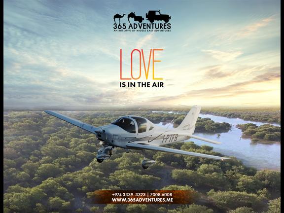 Love is in the Air - Flight Tour, biletino, 365 Adventures - Qatar