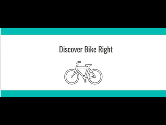 Discover Bike Right - KIDS CYCLING CLINIC, biletino, Discover Bike Right