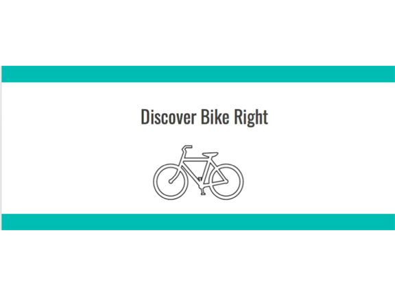 Discover Bike Right - BEGINNERS CYCLING CLINIC, biletino, Discover Bike Right