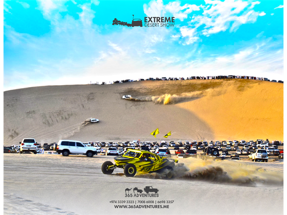 Extreme Desert Show - 16 March, biletino, 365 Adventures - Qatar