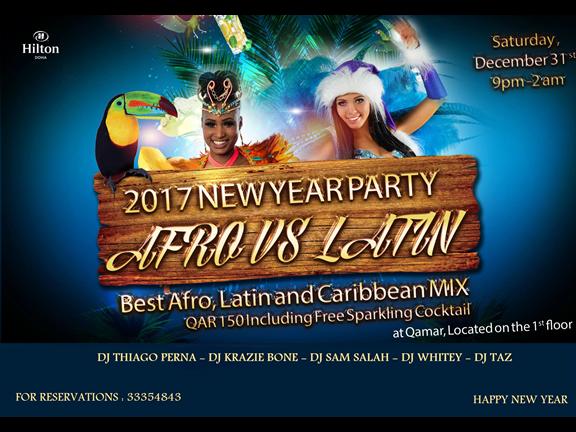 Afro Caribbean & Latin NYE 2017, biletino, Star Show Event