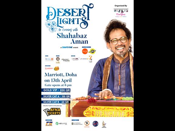 Desert Lights - An evening with Shahabz Aman, biletino, VenYou