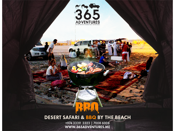 Desert Safari & BBQ by the Beach (20 JULY), biletino, 365 Adventures - Qatar