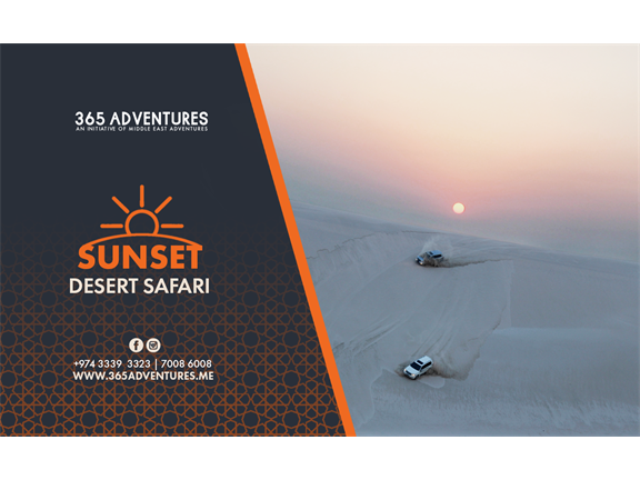 Sunrise Desert Safari (Shared) - 3 August, biletino, 365 Adventures - Qatar