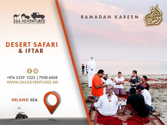 Desert Safari & Iftar at the Inland Sea - 18 MAY, biletino, 365 Adventures - Qatar