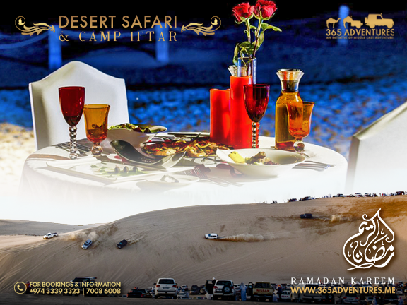 Desert Safari & Luxury Camp Iftar - 1 June, biletino, 365 Adventures - Qatar