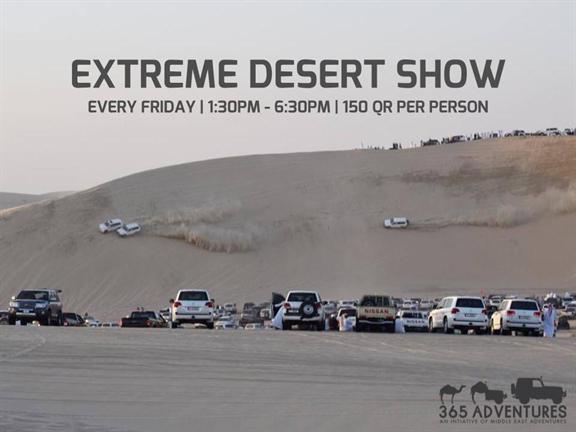 Extreme Desert Show 9.0, biletino, 365 Adventures - Qatar