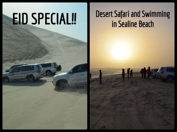 EID SPECIAL - Desert Safari and Swimming in Sealine Beach, biletino, 365 Adventures - Qatar