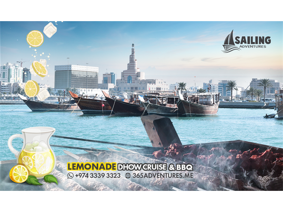 Lemonade Dhow Cruise & BBQ (20 July), biletino, 365 Adventures - Qatar