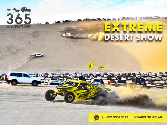 Extreme Desert Show, biletino, 365 Adventures - Qatar
