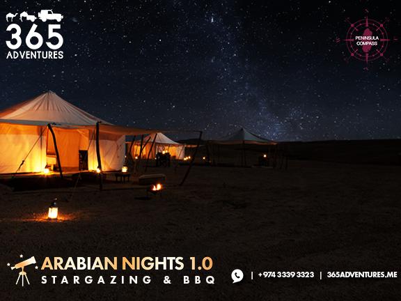 Arabian Nights 1.0: Stargazing & BBQ , biletino, 365 Adventures - Qatar