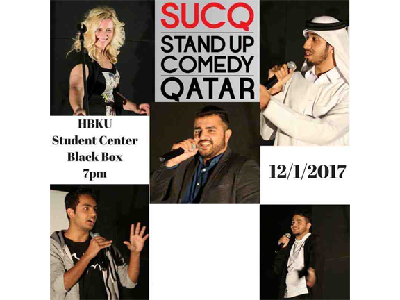 Stand Up Comedy Night | SUCQ, biletino, SUCQ (Stand Up Comedy Qatar)