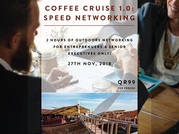 Coffee Cruise 1.0: Speed Networking, biletino, 365 Adventures - Qatar