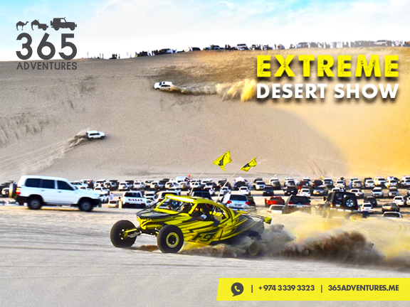 The Last Extreme Desert Show of 2018, biletino, 365 Adventures - Qatar