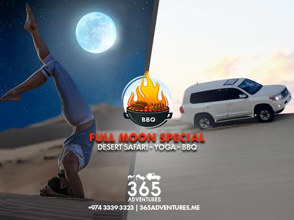 Desert Full Moon Yoga Experience, biletino, 365 Adventures - Qatar