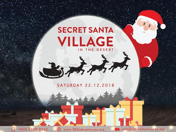 Secret Santa Village in the Desert, biletino, 365 Adventures - Qatar