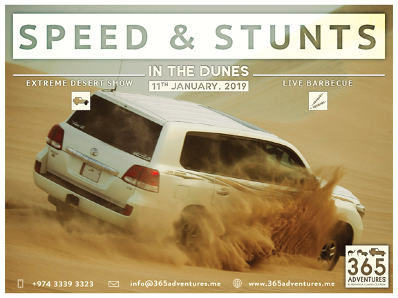 Speed & Stunts in the Dunes, biletino, 365 Adventures - Qatar
