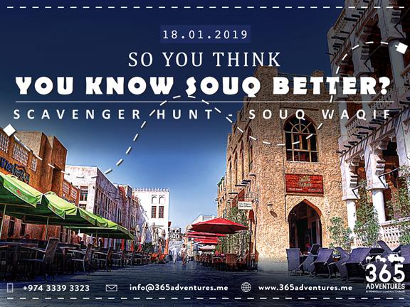 Scavenger Hunt in Souq Waqif, biletino, 365 Adventures - Qatar