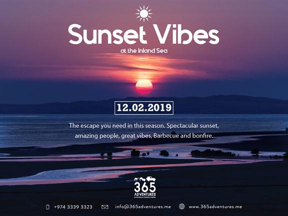 Sunset Vibes at the Inland Sea, biletino, 365 Adventures - Qatar