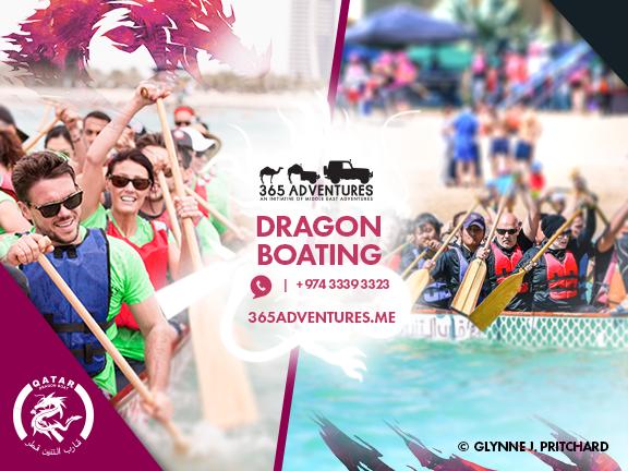 Dragon Boating, biletino, 365 Adventures - Qatar
