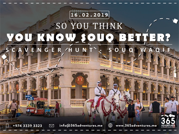 Scavenger Hunt in Souq Waqif, biletino, 365 Adventures - Qatar