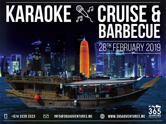 Karaoke Cruise & BBQ, biletino, 365 Adventures - Qatar