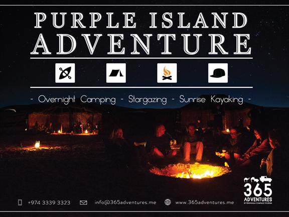 Purple Island Adventures, biletino, 365 Adventures - Qatar