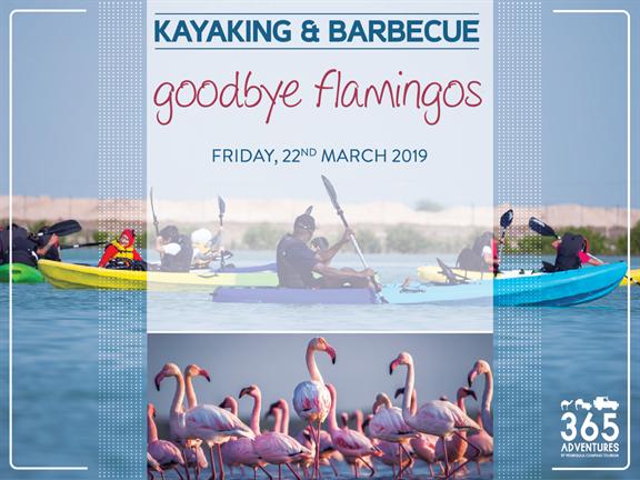 Goodbye Flamingos! Kayaking & BBQ, biletino, 365 Adventures - Qatar