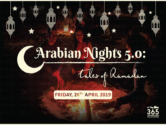 Arabian Nights 5.0: Tales of Ramadan, biletino, 365 Adventures - Qatar