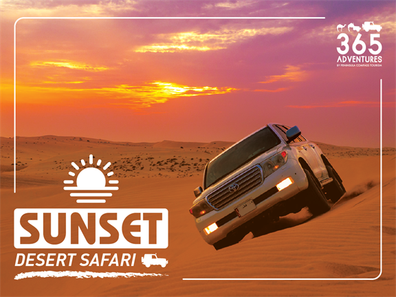 Sunset Desert Safari, biletino, 365 Adventures - Qatar