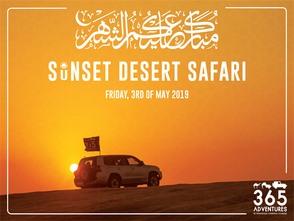 Sunset Desert Safari, biletino, 365 Adventures - Qatar