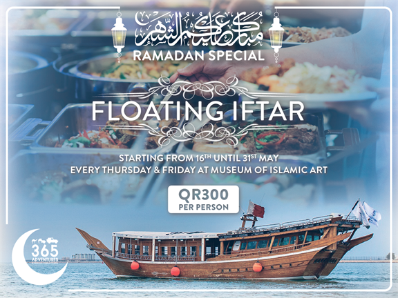 Floating Iftar (Ramadan Special), biletino, 365 Adventures - Qatar