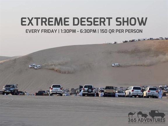 Extreme Desert Show 1.2, biletino, 365 Adventures - Qatar