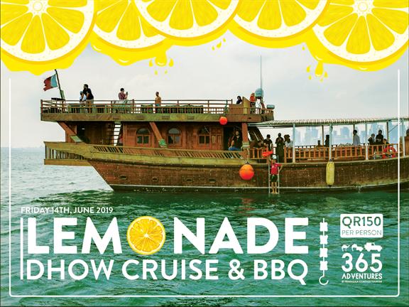 Lemonade Dhow Cruise & BBQ, biletino, 365 Adventures - Qatar