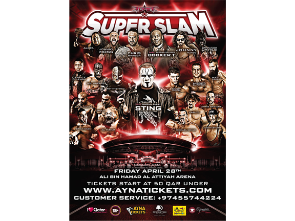 QPW SuperSlam Wrestling Event, biletino, Red Apple Events & Media