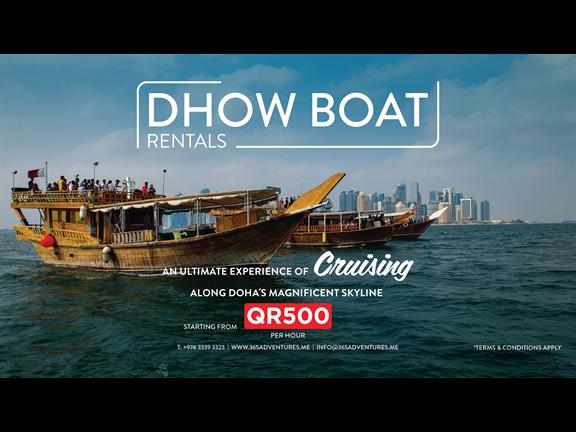 Dhow Boat Rental, biletino, 365 Adventures - Qatar