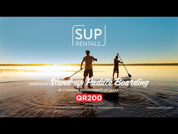 SUP (Stand Up Paddle) Rental, biletino, 365 Adventures - Qatar