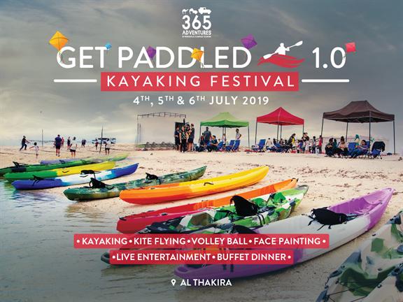 Get Paddled 1.0: Kayaking Festival, biletino, 365 Adventures - Qatar