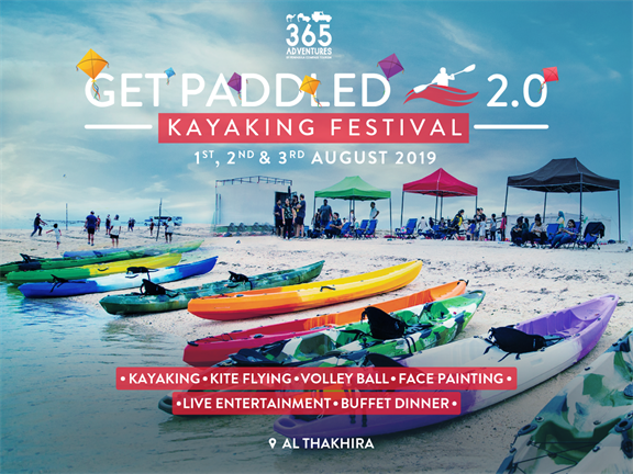 Get Paddled 2.0: Kayaking Festival, biletino, 365 Adventures - Qatar