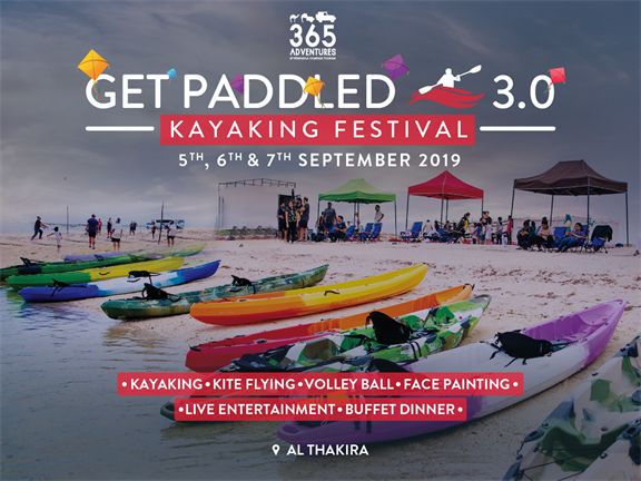 Get Paddled 3.0: Kayaking Festival, biletino, 365 Adventures - Qatar