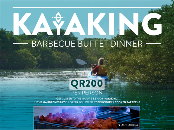 Mangroves Kayaking & BBQ, biletino, 365 Adventures - Qatar
