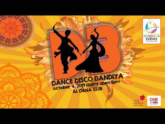 D3-DANCE DISCO DANDIYA, biletino, Red Apple Events & Media