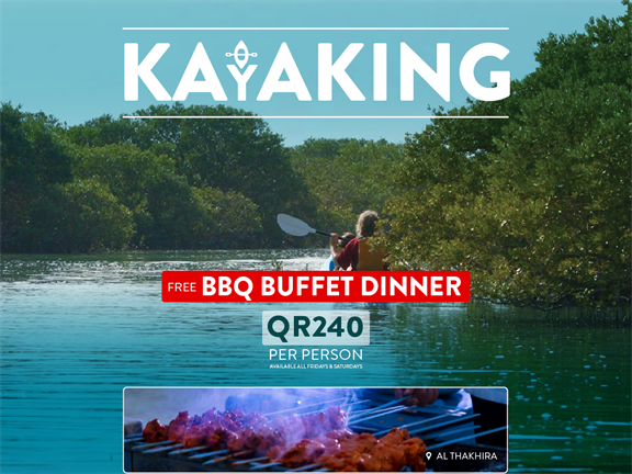 Kayaking at the Mangroves & BBQ, biletino, 365 Adventures - Qatar
