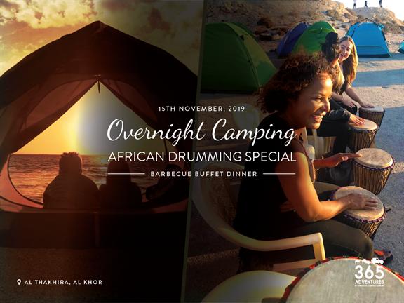 Overnight Camping & African drumming, biletino, 365 Adventures - Qatar